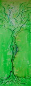 AA grüne göttin